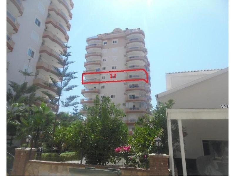 Antalya Alanya Mahmutlar Mahallesinde 2+1 124 m2 Daire