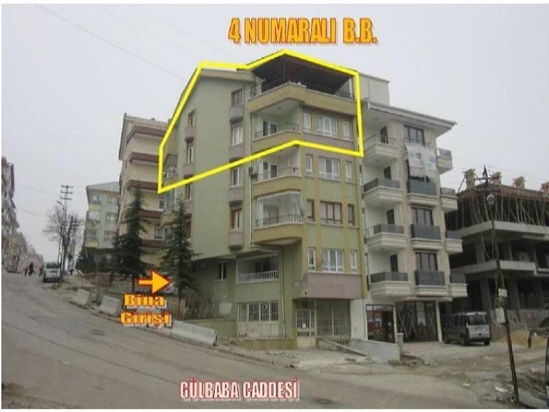 Ankara Keçiören Bankadan Satılık 167 m2 Daire