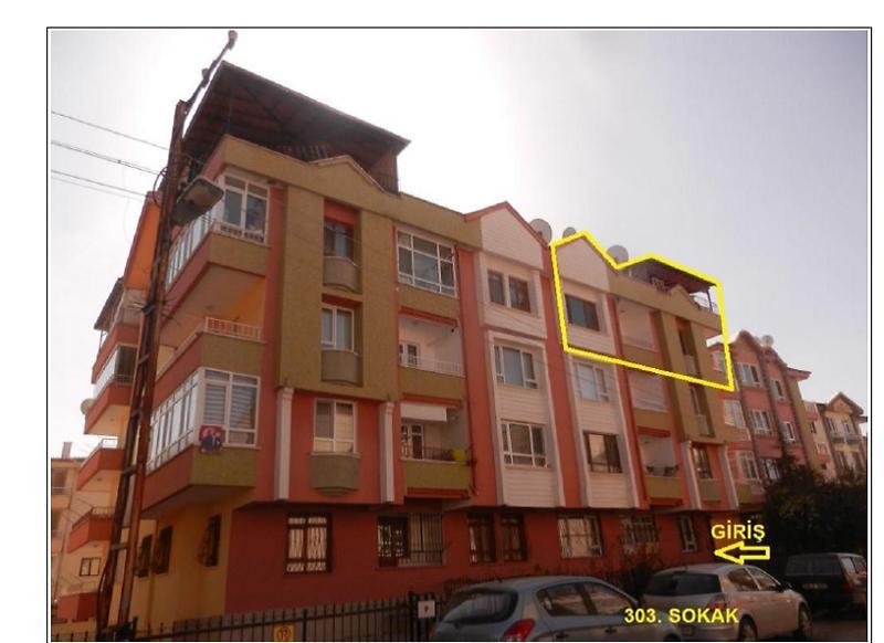 Ankara Keçiören Esertepe Mahallesinde 4+1 Daire