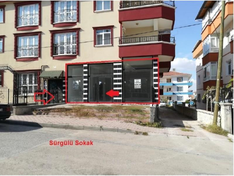 Ankara Sincan Bankadan Satılık 70 m2 Dükkan