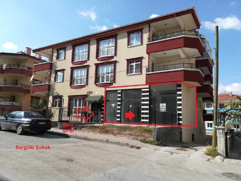 Ankara Sincan Malazgirt Mahallesinde 70 m2 Dükkan