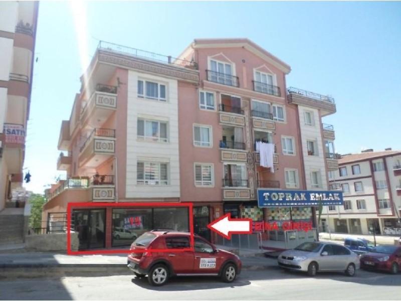 Ankara Mamak Yeşilbayır Mahallesinde 220 m2 Dükkan