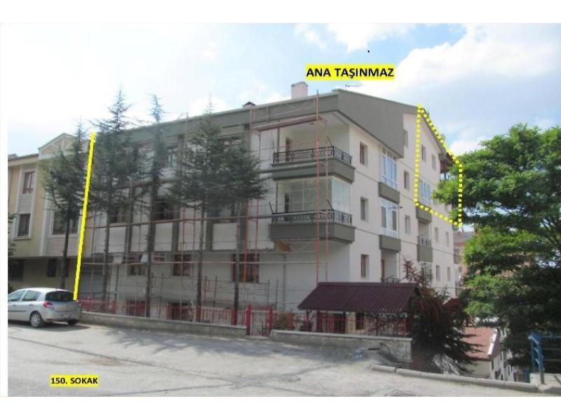 Ankara Mamak Mehtap Mahallesinde 121 m2 5+1 Daire