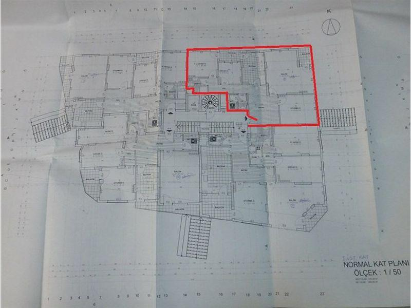 Hatay Antakya Bankadan Satılık 120 m2 Daire