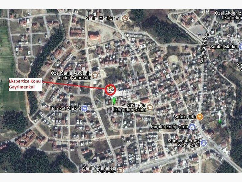 Antalya Manavgat Bankadan Satılık 127 m2 Daire
