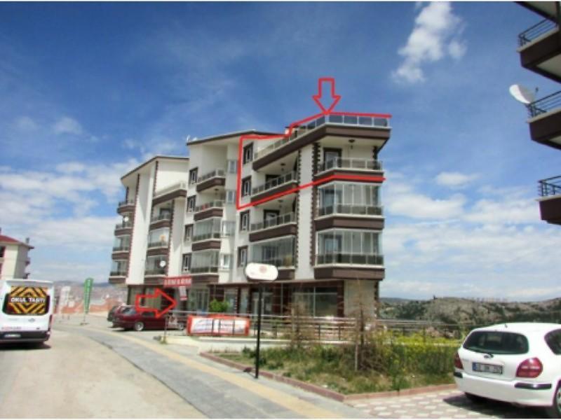 Ankara Altındağ Doğantepe Mahallesinde 219 m2 Dubleks Daire