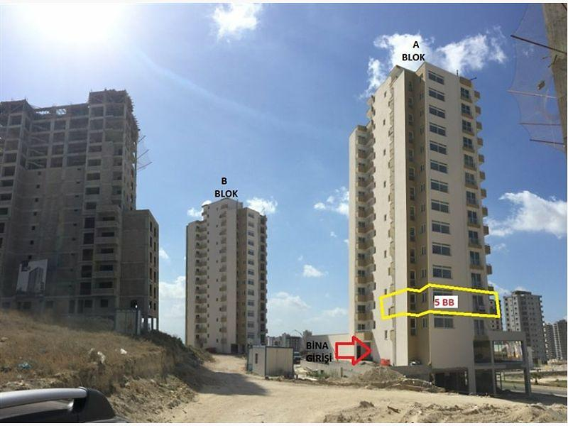 Adana Sarıçam Çarkıpare Mahallesinde 86 m2 1+1 Daire
