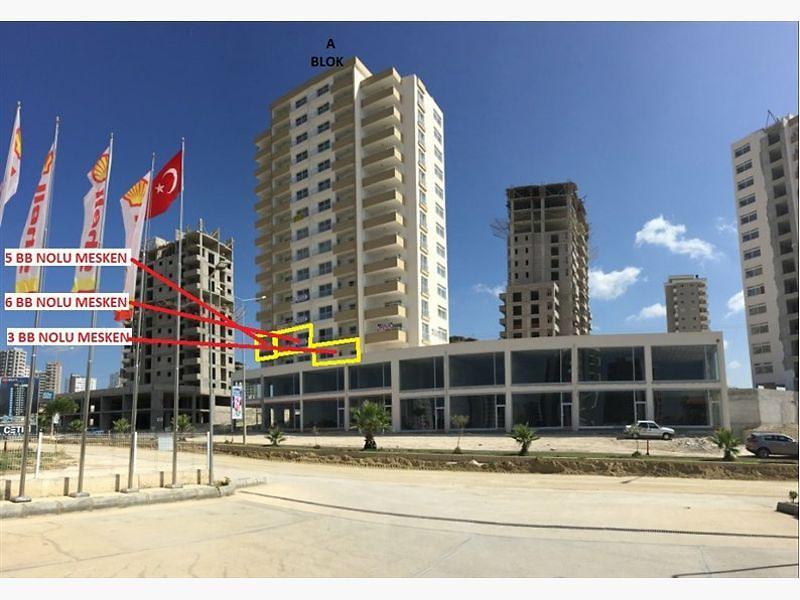 Adana Sarıçam Çarkıpare Mahallesinde 50 m2 1+1 Daire
