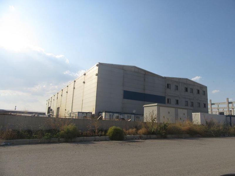 Ankara Polatlı Çekirdeksiz OSB'nde Fabrika Ve Arsası
