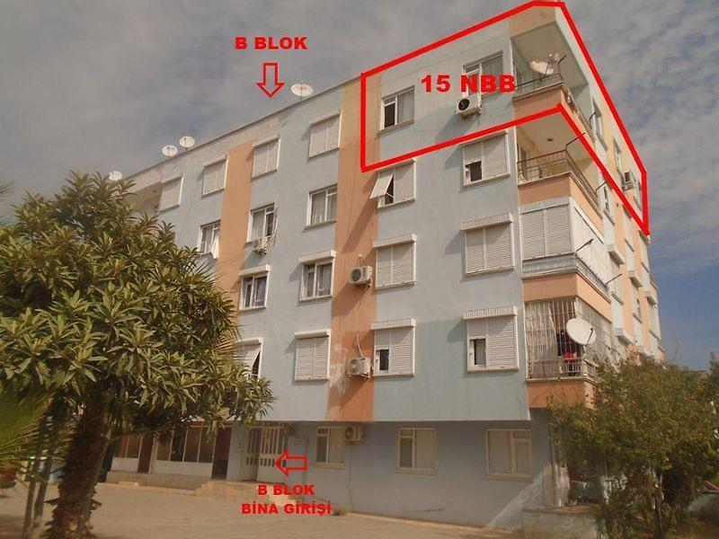 Antalya  Döşemealtı Bahçekaya Mahallesinde 98 m2 3+1 Daire