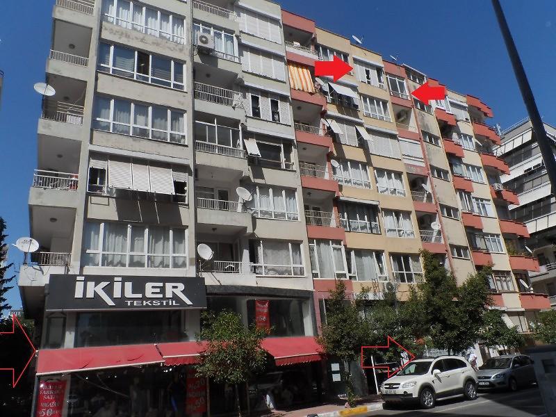 Antalya Muratpaşa Bankadan Satılık 100 m2 Daire