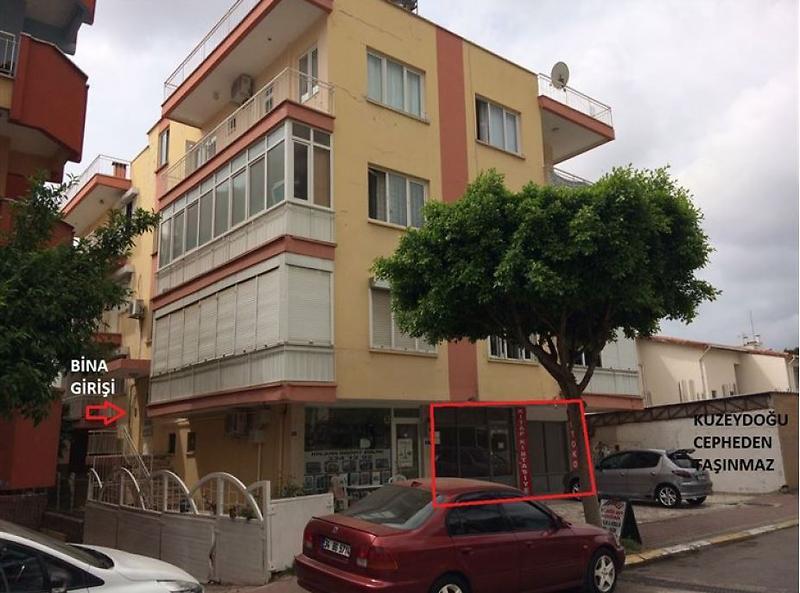 Antalya Kepez Bankadan Satılık 139 m2 Dükkan