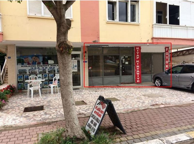 Antalya Kepez Özgürlük Mahallesinde 139 m2 Dükkan