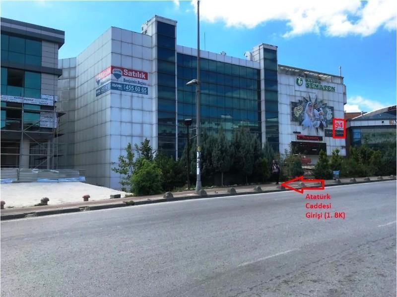 İstanbul Sancaktepe Bankadan Satılık 34 m2 Dükkan