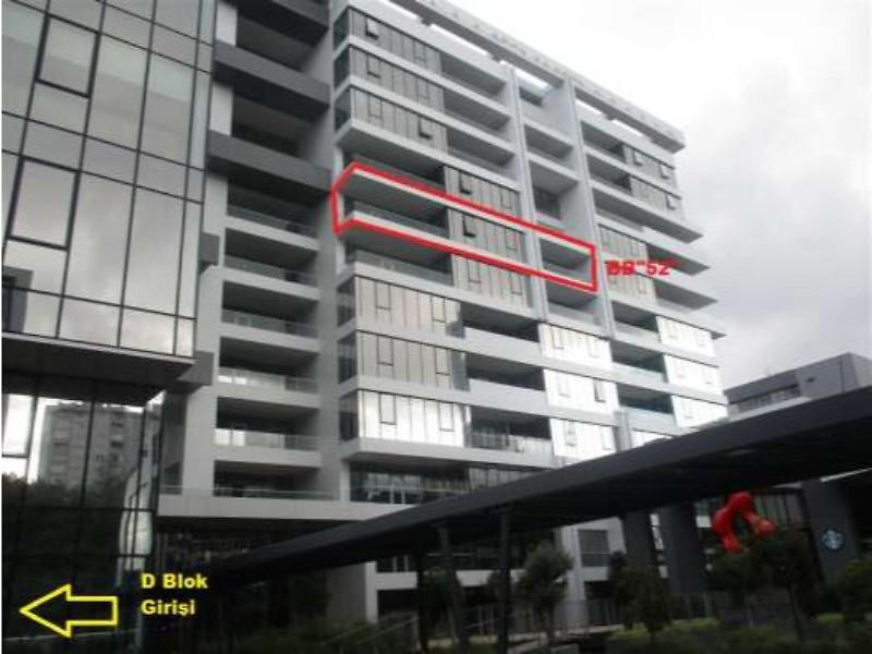 İstanbul Sarıyer Seba Office Boulevard Projesinde 320 m2 Ofis