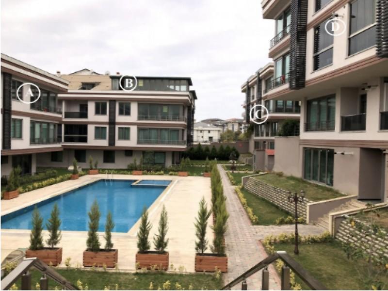 İstanbul Büyükçekmece Aden Konakları 3+1 135 m2 Daire