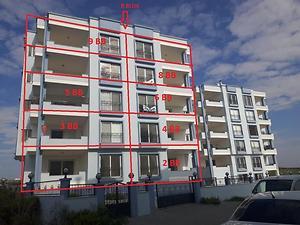 Adana Karataş Yeni Mahallede 3+1 123 m2 Daire