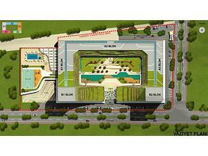 Bursa Harmony Towers'ta 5 Adet 2+1 Daire