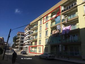 İzmir Menderes Kasımpaşa Mahallesinde 104 m2 3+1 Daire