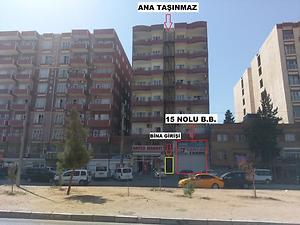 Mardin Kızıltepe Fırat Mahallesinde 280 m2 Asma Katlı Dükkan