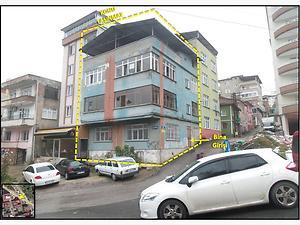 Samsun İlkadım Unkapanı Mahallesinde 3 Katlı Bina