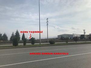 Çorum'da Ankara-Samsun Karayoluna Cepheli 17 Dönüm Sanayi İmarlı Arsa