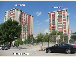 Ankara Çankaya Karakusunlar Mahallesinde 3+1 121 m2 Daire