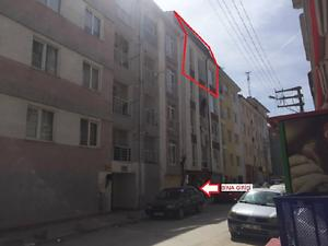 Eskişehir Tepebaşı Fatih Mahallesinde 144 m2 Dubleks Daire