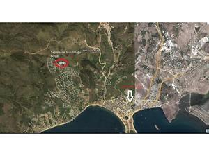 İzmir Dikili Çandarlı Mahallesi Koru Mevkiinde Hisseli 87 m2 Arsa
