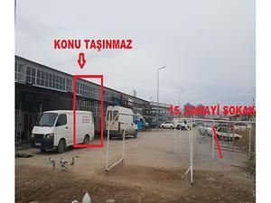 Sivas Merkez 4 Eylül Küçük Sanayi Sitesinde 148 m2 Dükkan