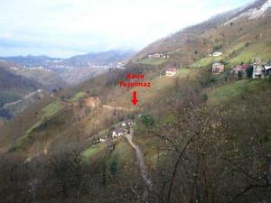Giresun Güce Fındıklı Köyünde 4280 m2 Fındık Bahçesi