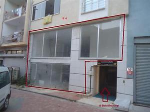 Bilecik Bozüyük Kasımpaşa Mahallesinde 180 m2 Asma Katlı Dükkan