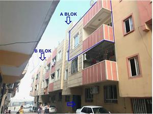 Şanlıurfa Haliliye Ahmet Yesevi Mahallesinde 78m2 Daire