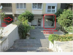 İzmir Konak Yeşiltepe Mahallesi'nde 158 m2 2 Adet Dükkan