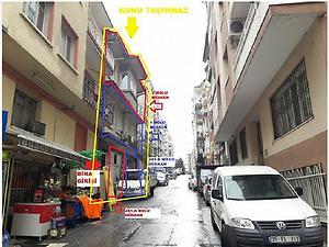 İzmir Konak Kılıç Reis Mahallesinde 3 Katlı Bina