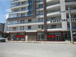 Konya Selçuklu Şeker Mahallesi Karbeyaz Sitesinde Dükkan