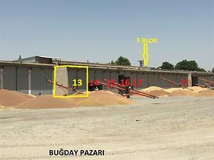 Diyarbakır Bismil Sanayi Mahallesinde 57 m2 Depo
