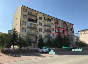 Kırıkkale Merkez Kaletepe Mahallesi Gülşah Yapı Kooparitifinde 3+1 Daire