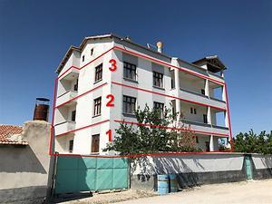 Konya Karapınar Adalet Mahallesinde 108 m2 Daire