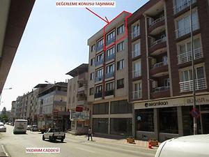 Bursa Nilüfer İlçesi Konak Mahallesinde 192 m2 Dubleks Daire