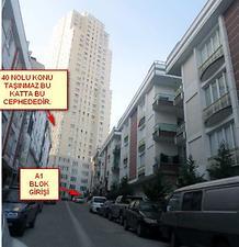 İstanbul Esenyurt Star Towers Sitesinde 3+1 Daire