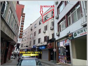 Trabzon Ortahisar İskenderpaşa Mahallesinde 62 m2 Büro