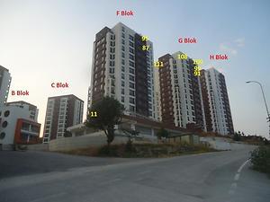 Bilecik Merkez Bahçelievler Mahallesi Cemre Yaşam Sitesinde 92 m2 2+1 Dubleks Daire