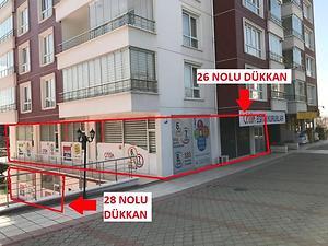 Ankara Yenimahalle Filiz Park Sitesinde 122 m2 Dükkan