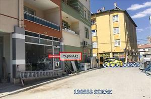 Konya Karapınar Hacı Ömerli Mahallesinde Depolu Dükkan