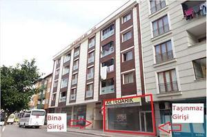Kocaeli Gebze Mustafapaşa Mahallesinde 365 m2 Depolu Dükkan