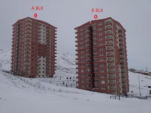Ankara Keçiören Bağlum Mahallesinde Natamam 118 m2 3+1 Daire