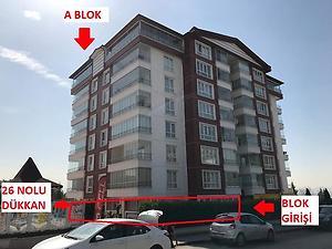 Ankara Yenimahalle Filiz Park Sitesinde 86 m2 Dükkan