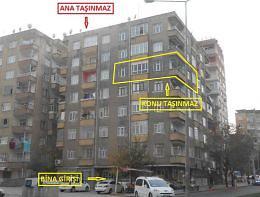 Diyarbakır Yenişehir Şehitlik Mahallesinde 2+1 Daire