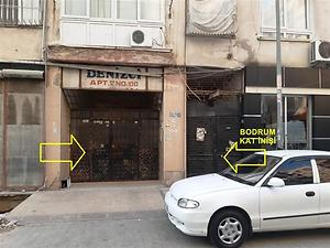 Mersin Akdeniz Yeni Mahallesinde 33 m2 Depo